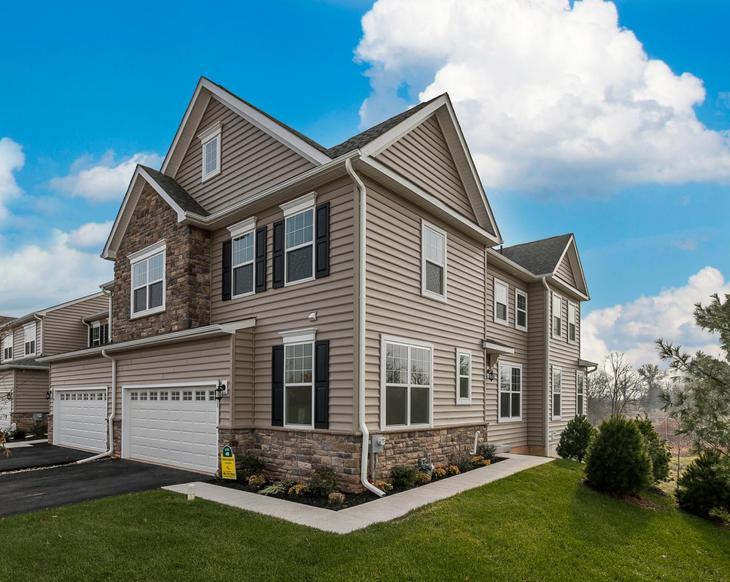 Exterior:The Chandler Model by Rouse Chamberlin Homes