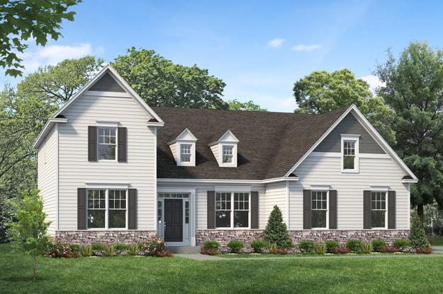 Exterior:Jamison I shown with optional dormers