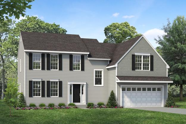 Exterior:Longwood I by Rouse Chamberlin Homes
