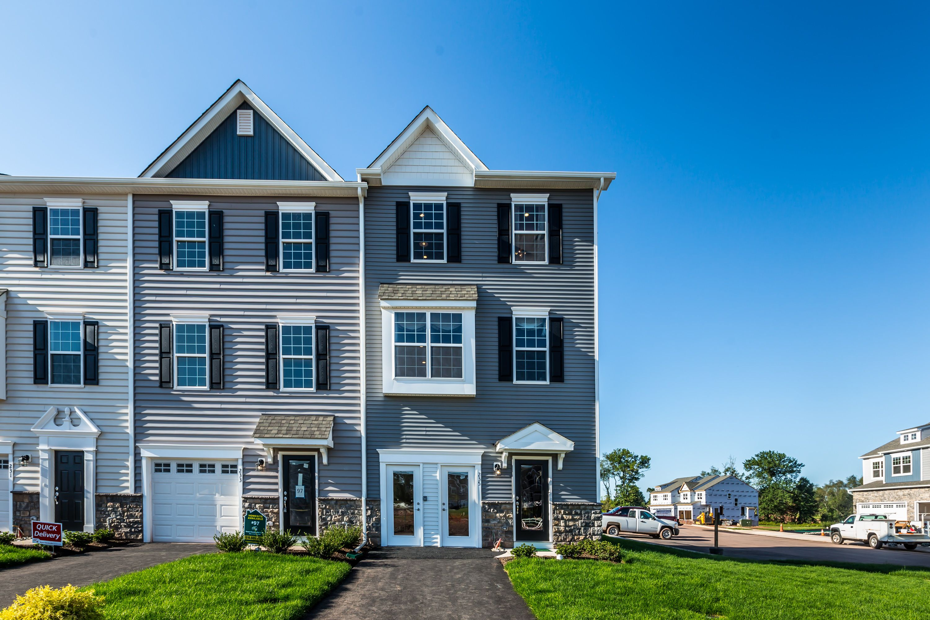 Exterior featured in the Lexington By Rouse Chamberlin Homes in Philadelphia, PA