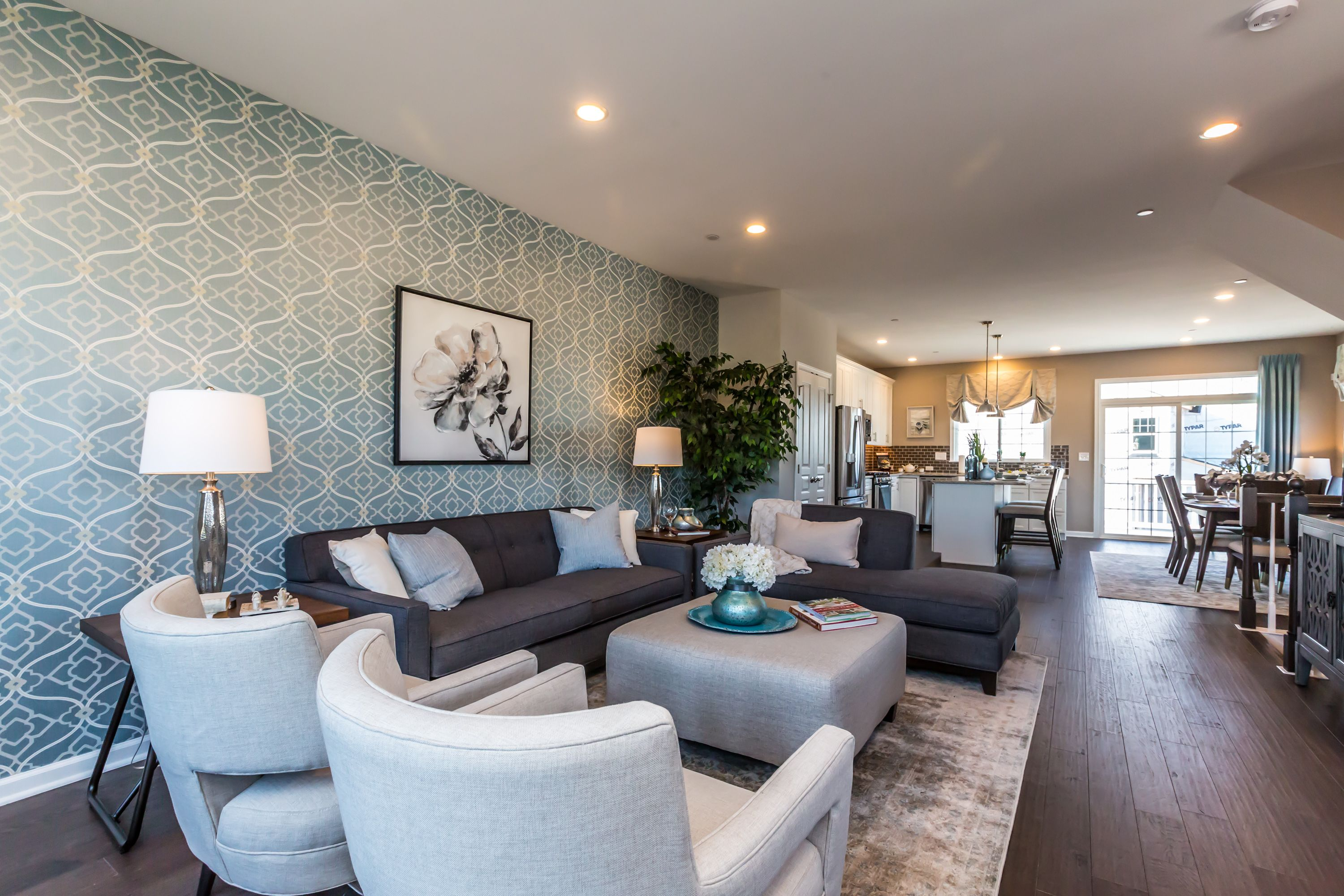 Living Area featured in the Newport By Rouse Chamberlin Homes in Philadelphia, PA