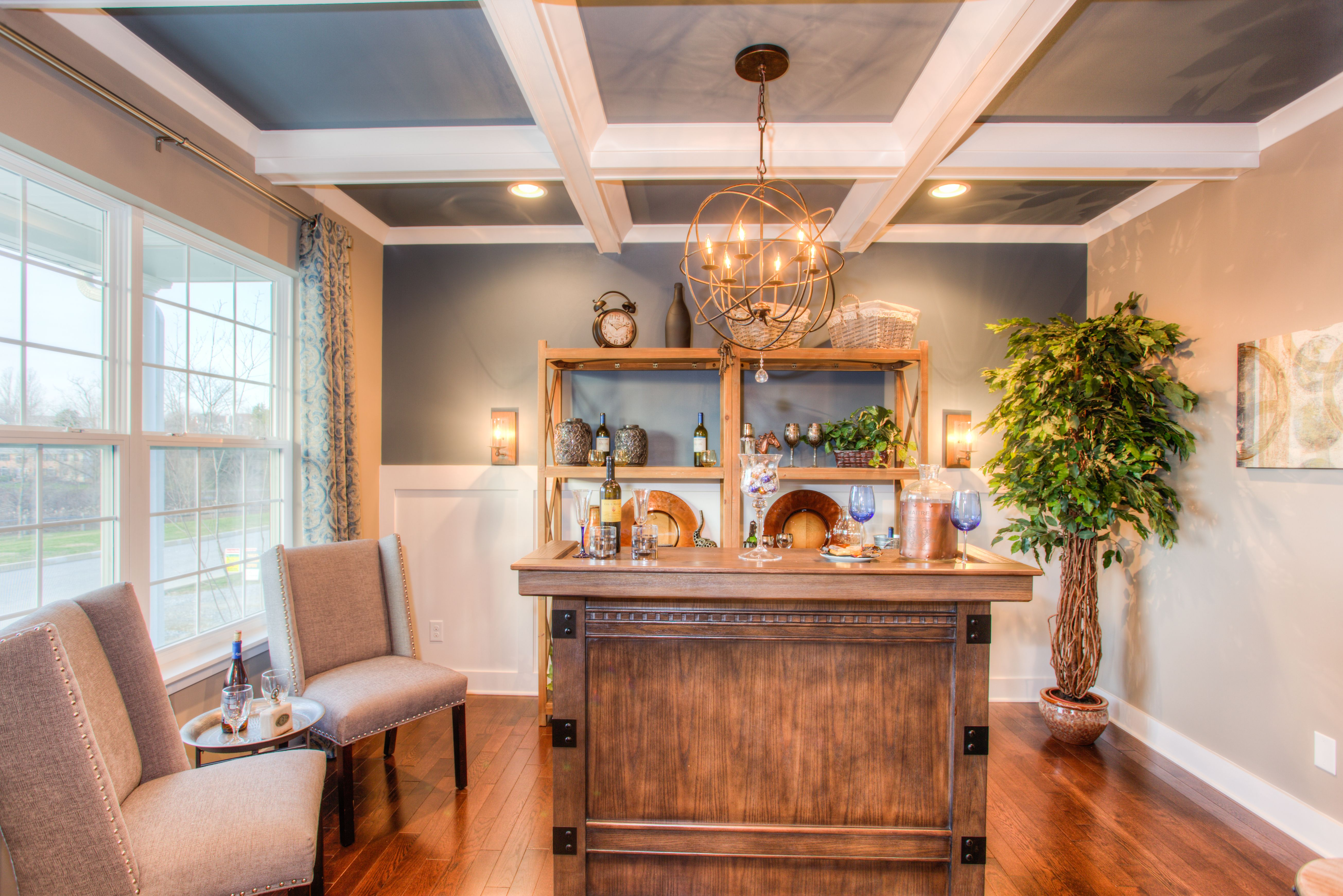 Living Area featured in the Hawthorne By Rouse Chamberlin Homes in Philadelphia, PA