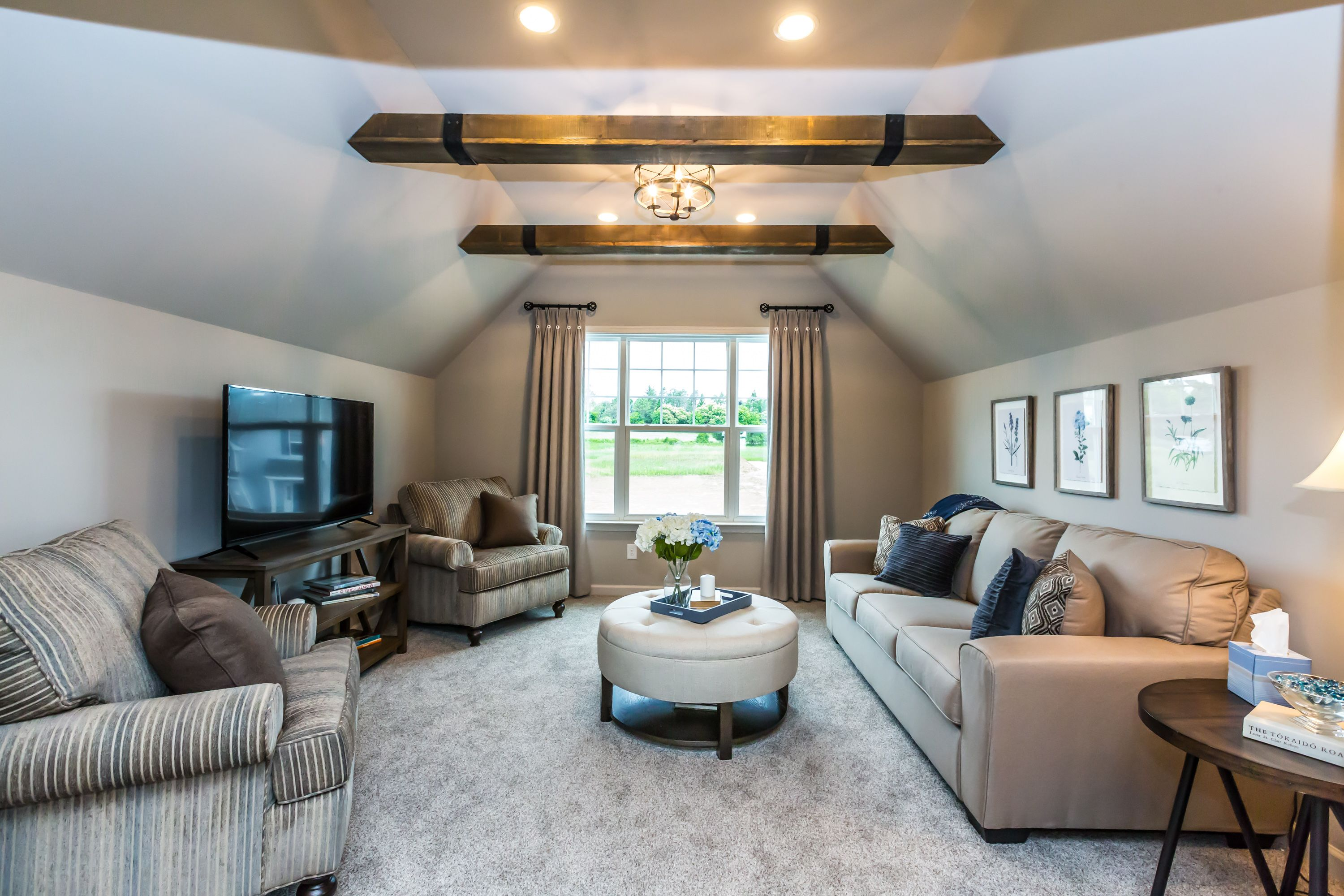 Living Area featured in the Malvern By Rouse Chamberlin Homes in Philadelphia, PA