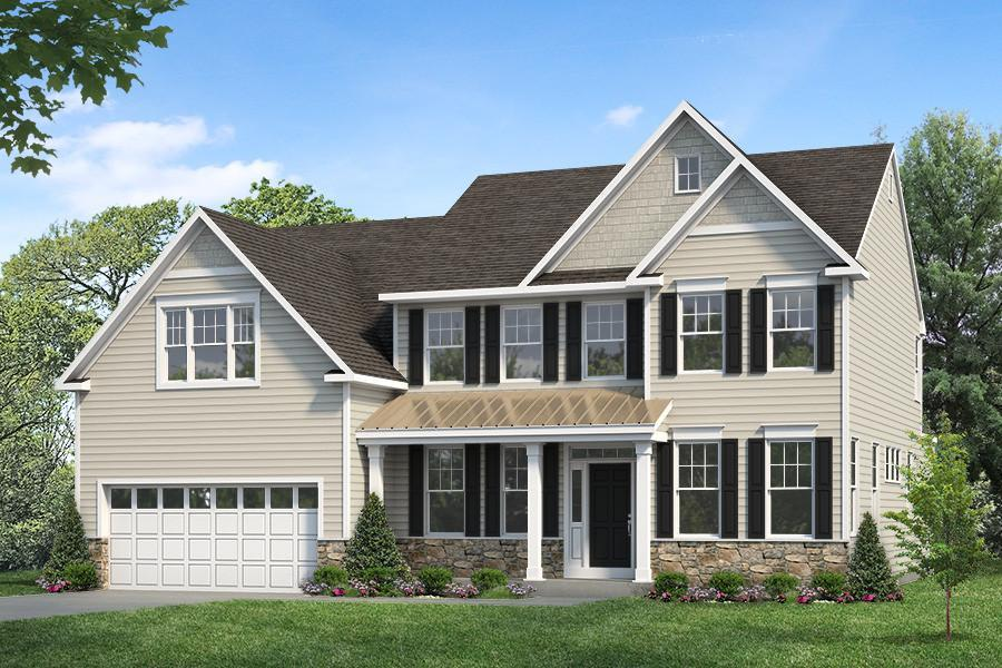 Exterior featured in the Malvern By Rouse Chamberlin Homes in Philadelphia, PA