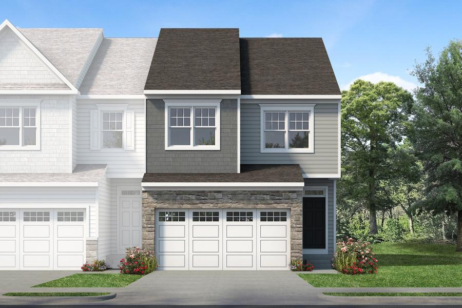 Exterior featured in the Prestley Grand By Rouse Chamberlin Homes in Philadelphia, PA