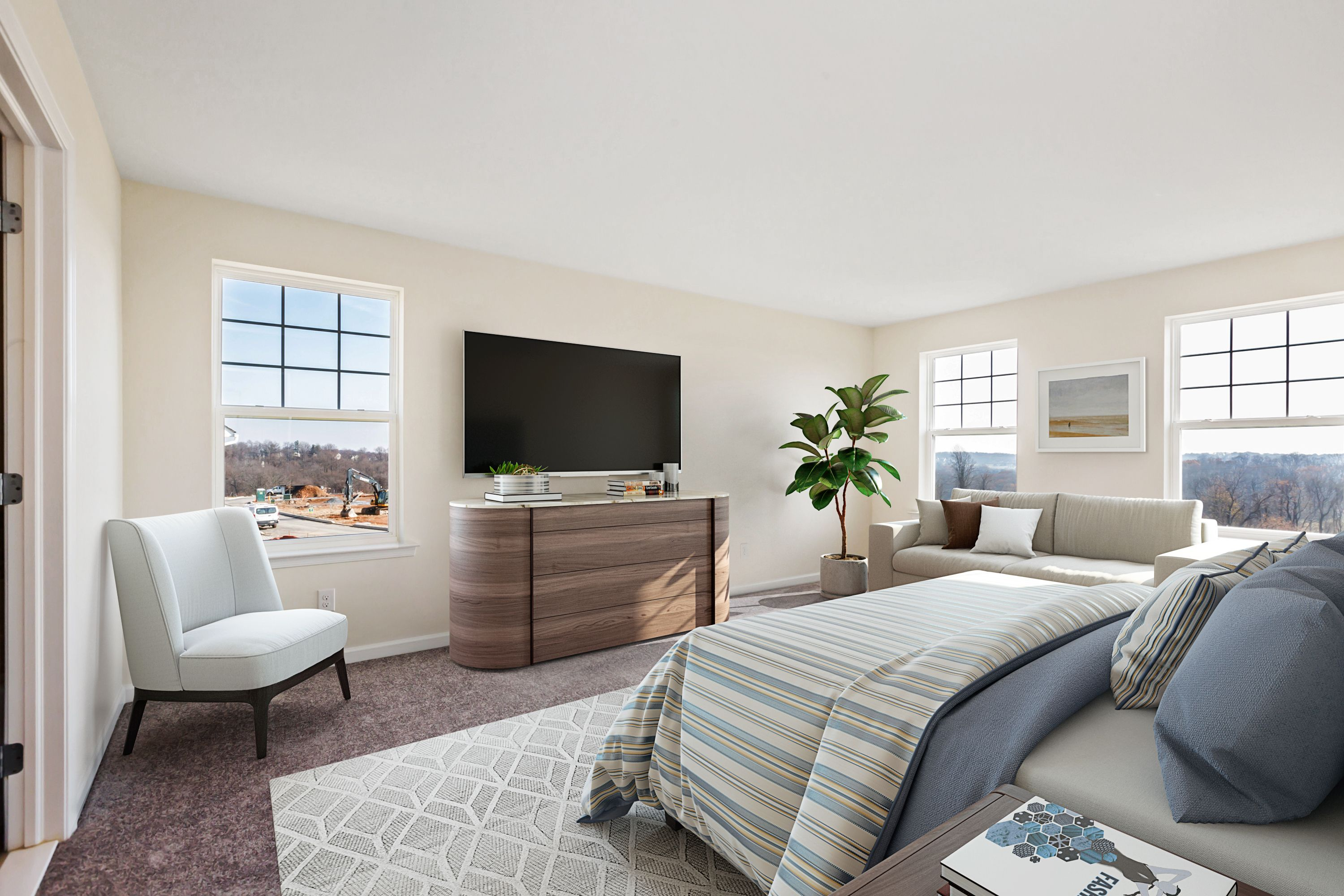 Bedroom featured in the Woodbine Select By Rouse Chamberlin Homes in Philadelphia, PA