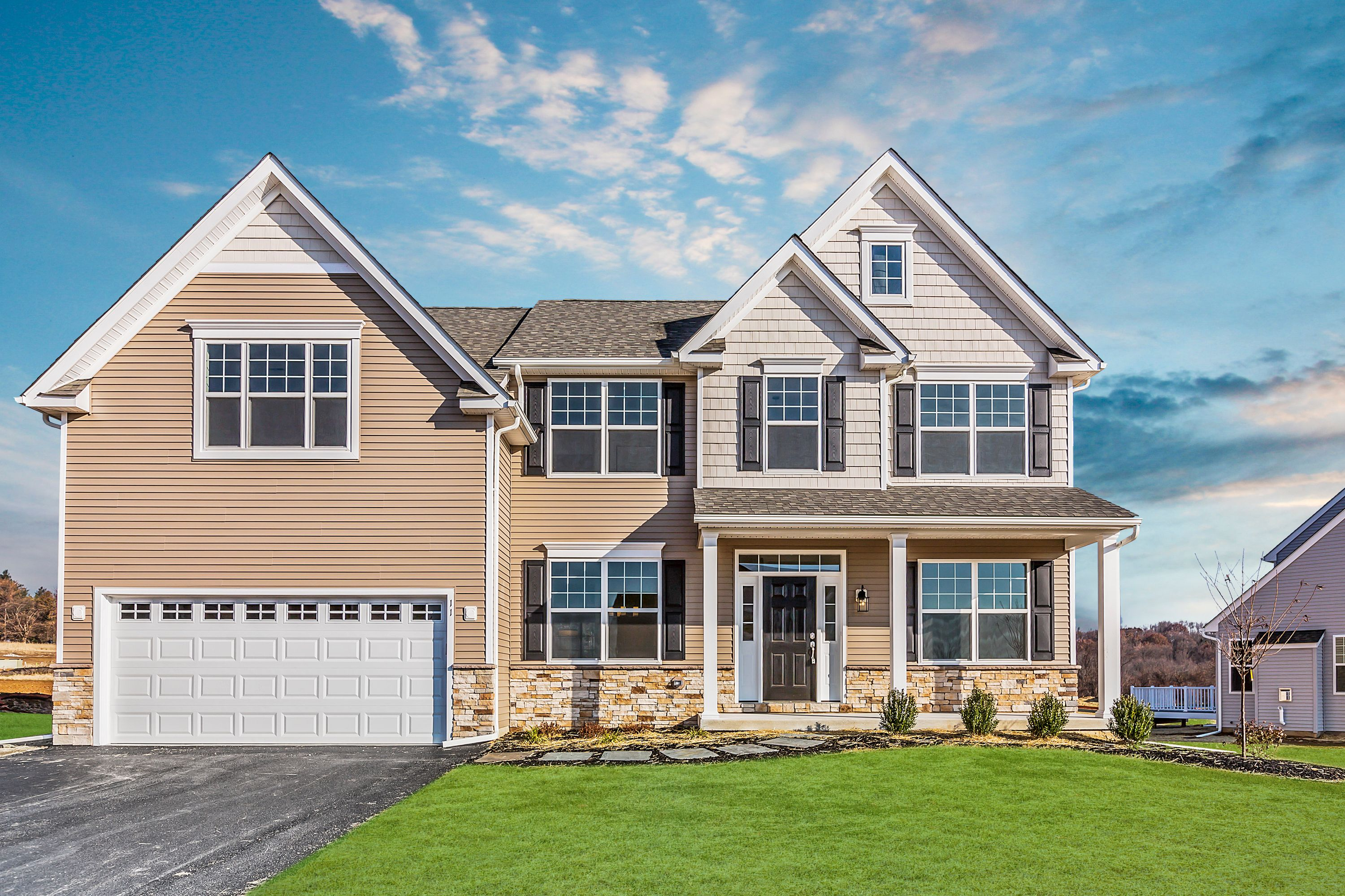 Exterior featured in the Hawthorne By Rouse Chamberlin Homes in Philadelphia, PA