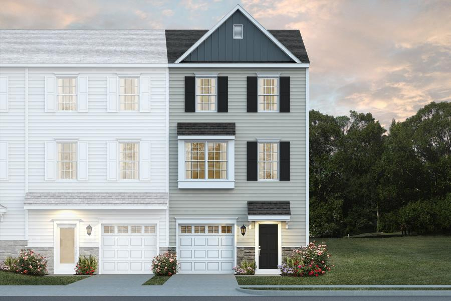 Exterior featured in the Newport By Rouse Chamberlin Homes in Philadelphia, PA
