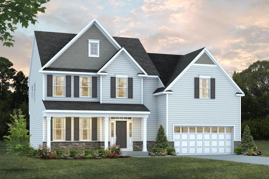 Exterior featured in the Woodbine Select By Rouse Chamberlin Homes in Philadelphia, PA