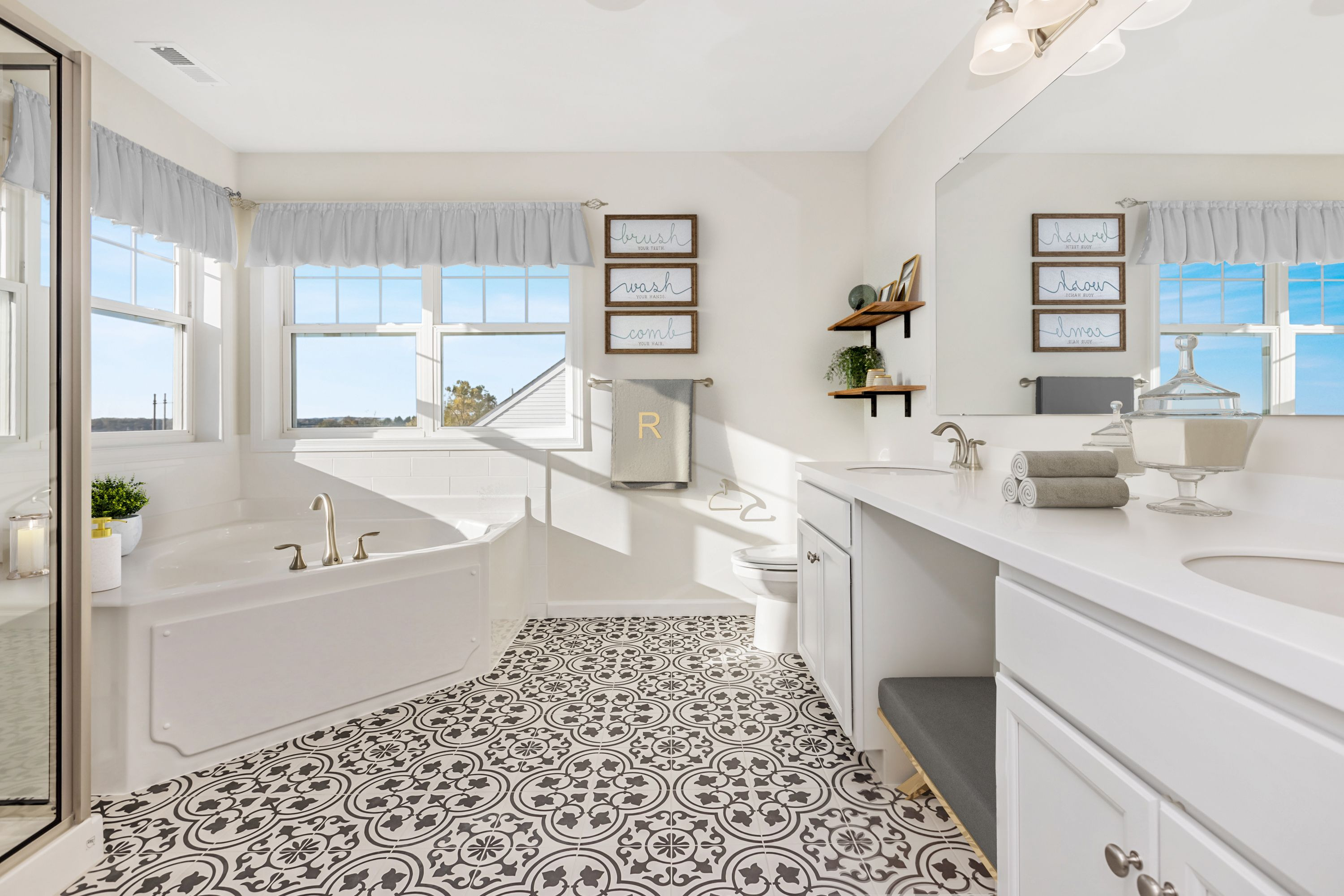 Bathroom featured in the Cambridge By Rouse Chamberlin Homes in Philadelphia, PA
