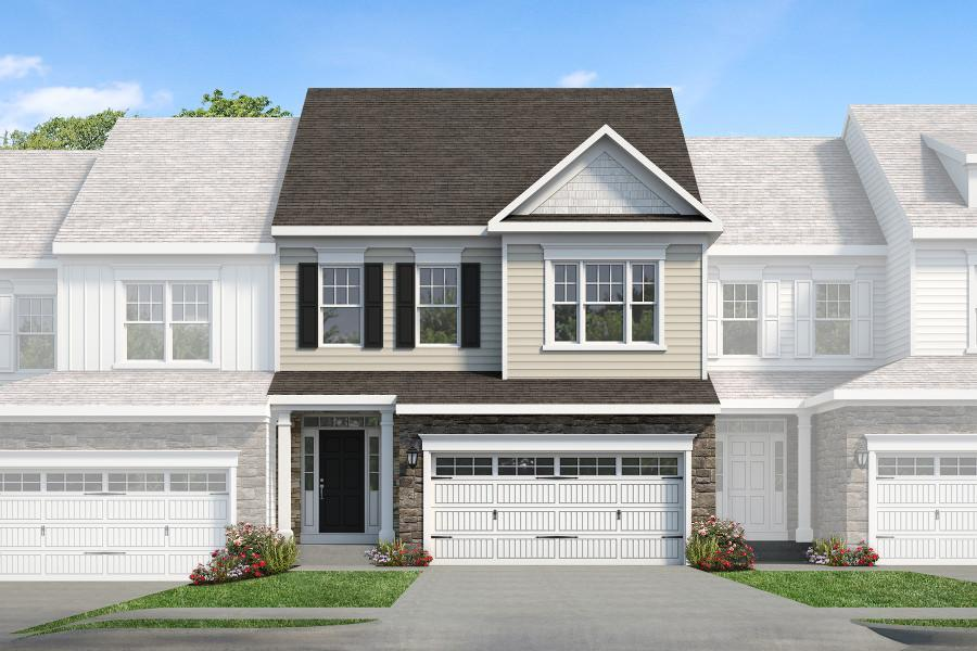 Exterior featured in the Ascot By Rouse Chamberlin Homes in Philadelphia, PA