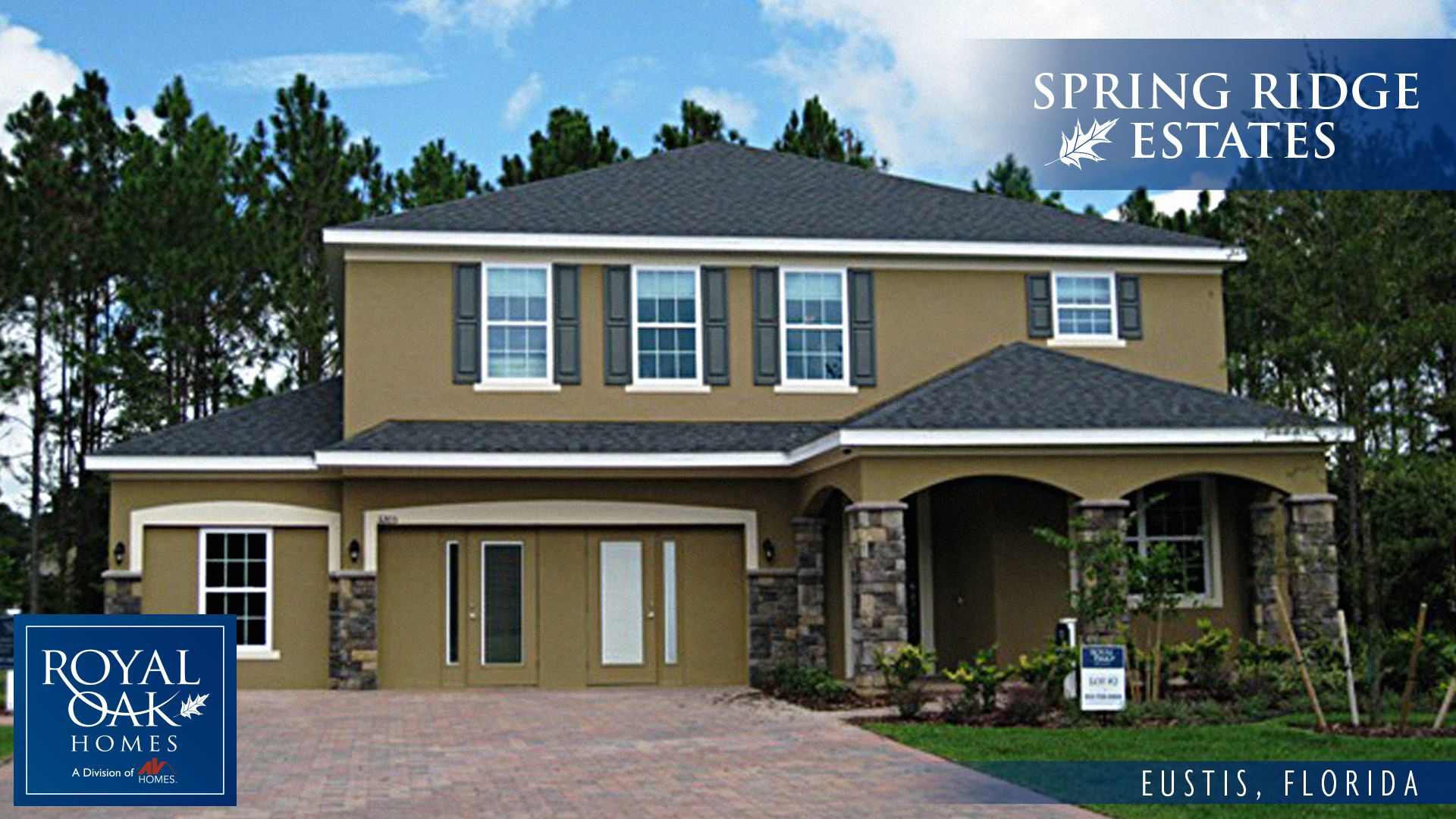 Spring Ridge Estates By Royal Oak Homes In Orlando Florida