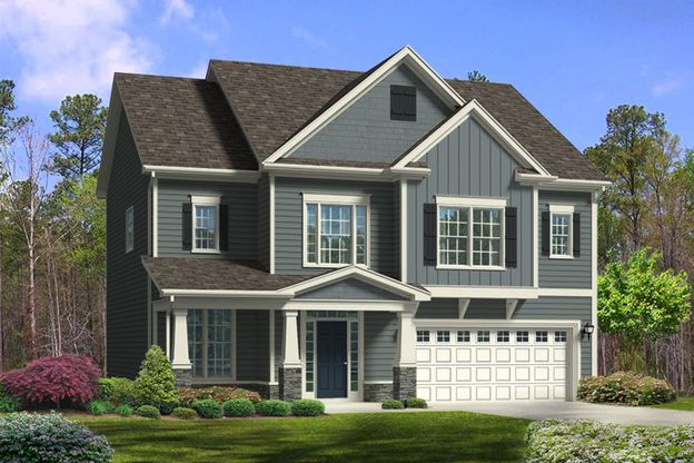 Royal Oaks a Division of Mattamy Homes, The Fremont, Single-Family Home, Ballentine Place, Jewell...:Ballentine Place | Homesite 35 | Jewell Farm Lane
