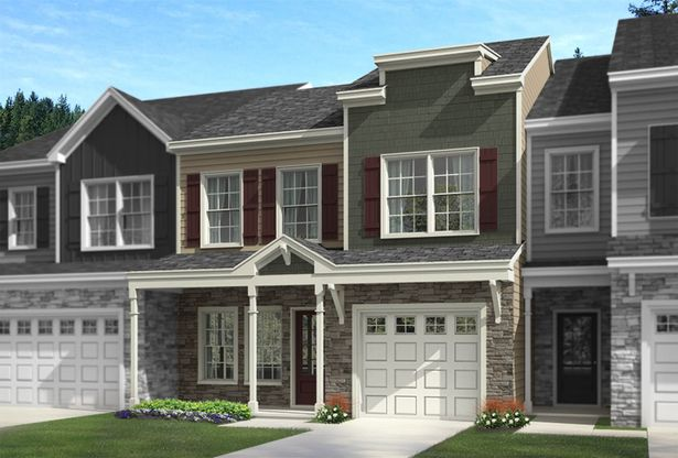 The Concord | Front Elevation Rendering
