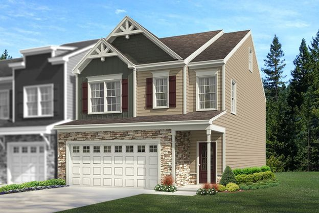 The Atkinson   Holland Station   Homesite 104   Front Exterior Rendering
