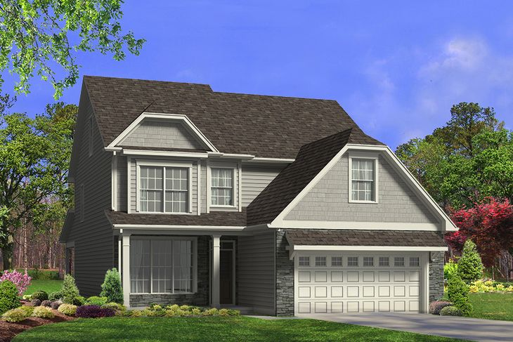 Exterior:Carteret Elevation D