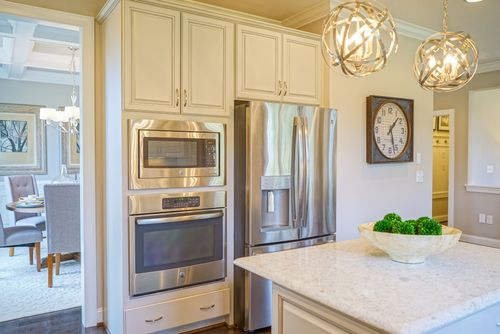 Kitchen-in-The Ocracoke-at-Wendell Falls-in-Wendell