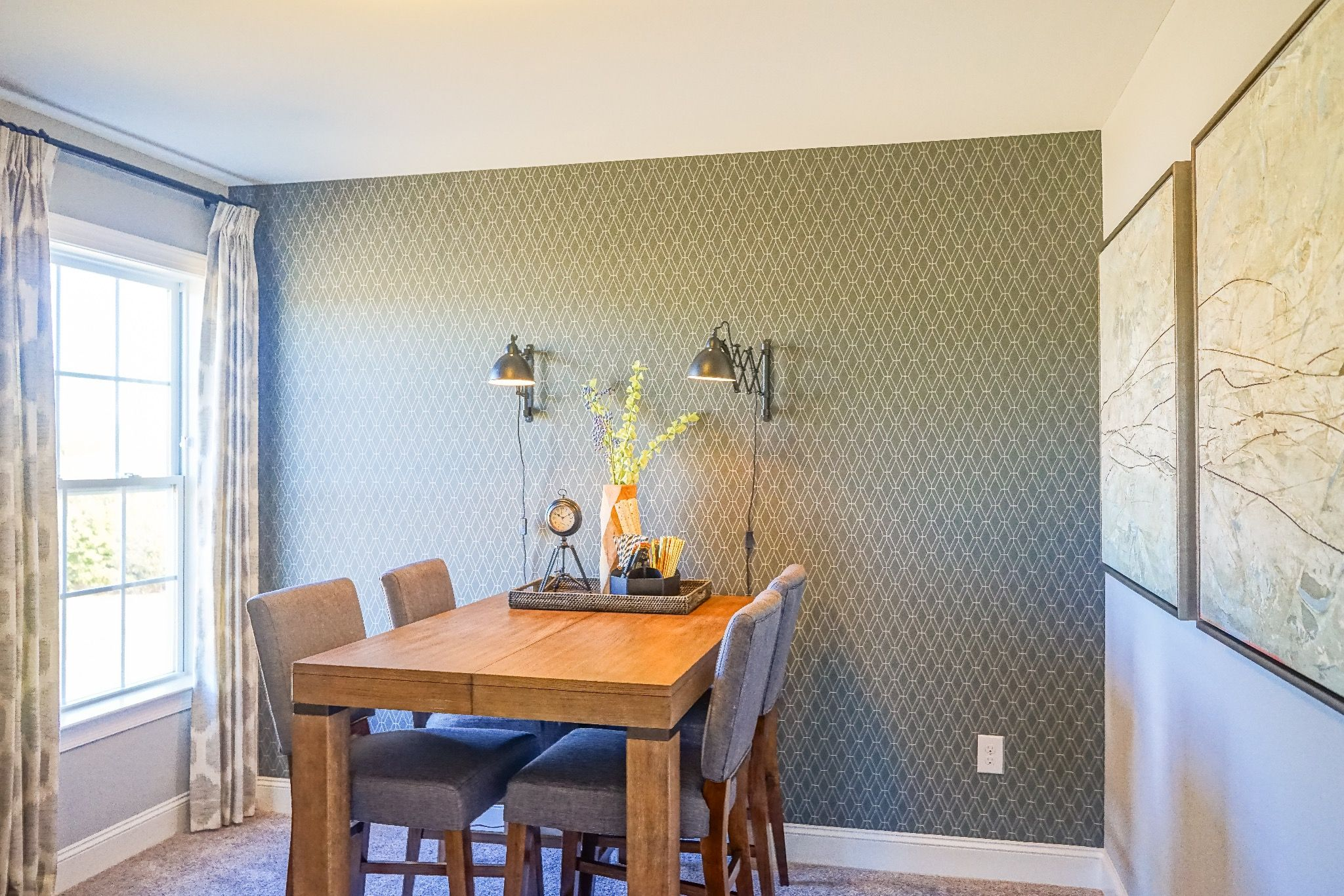 Breakfast-Room-in-The Carteret-at-Southern Acres-in-Fuquay Varina