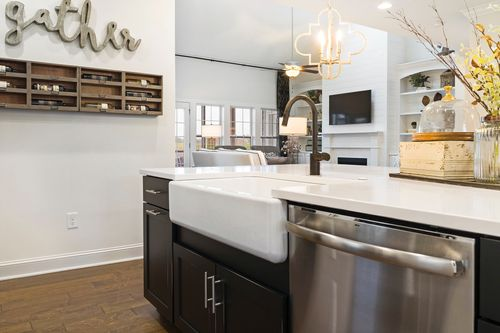 Kitchen-in-The Bennett-at-Wendell Falls-in-Wendell