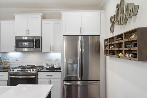 Kitchen-in-The Bennett-at-Ballentine Place-in-Holly Springs