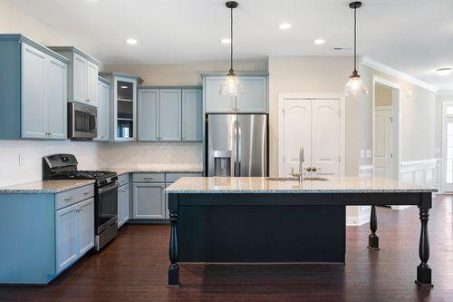 Kitchen-in-The Stewart-at-Wendell Falls-in-Wendell