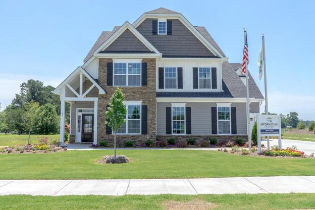 Royal Oaks a Division of Mattamy Homes, Southern Acres, The Juniper, Exterior