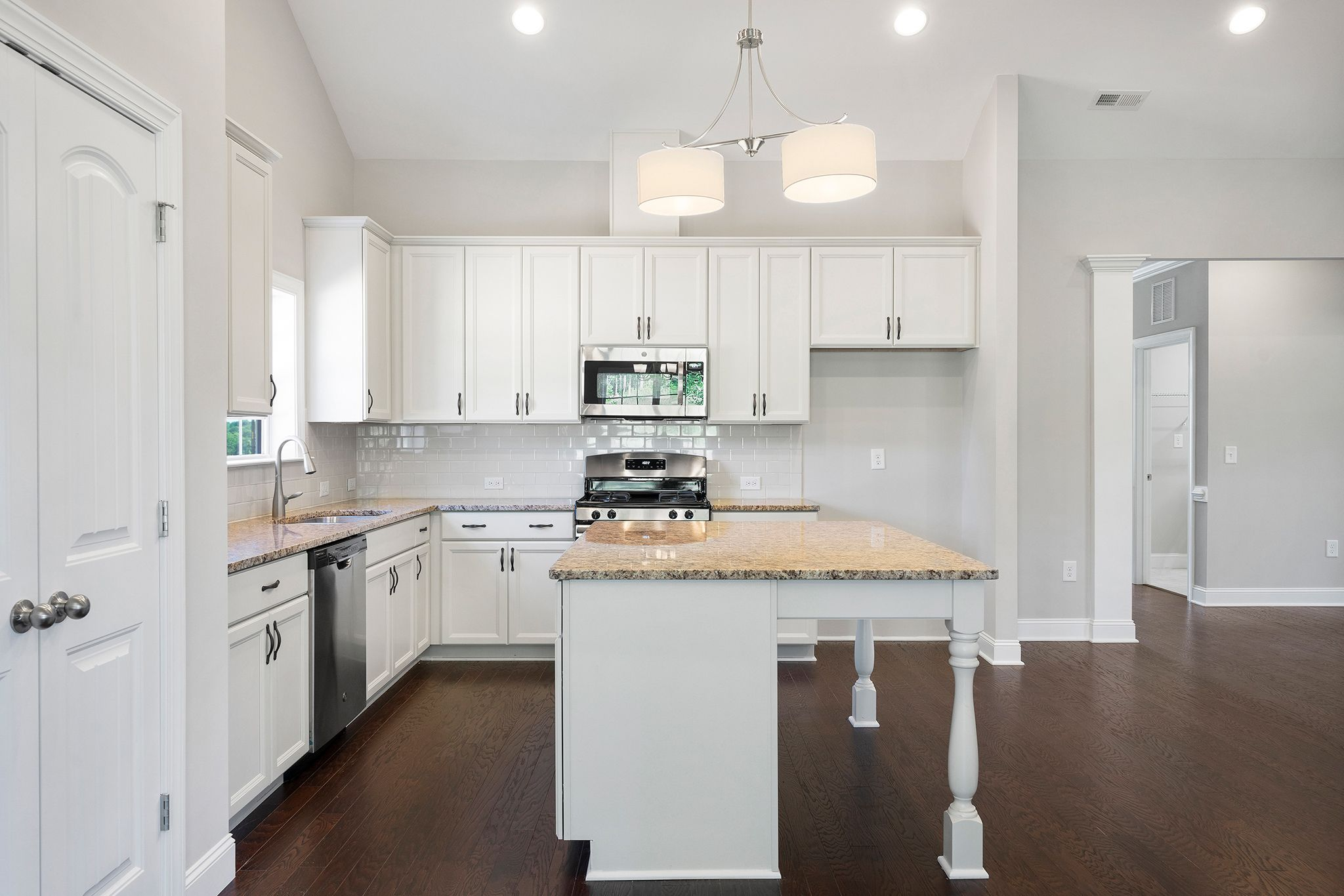Kitchen-in-The Magnolia-at-Rockbridge-in-Knightdale