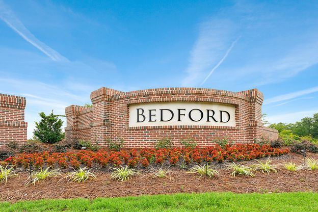Bedford at Flowers Plantation by Royal Oaks Homes Entrance Monument