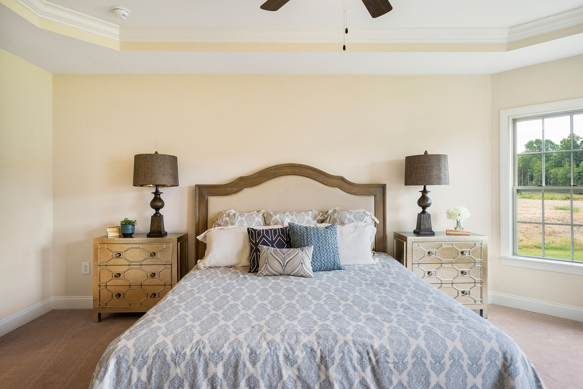 Bedroom-in-The Hanover-at-Wendell Falls-in-Wendell