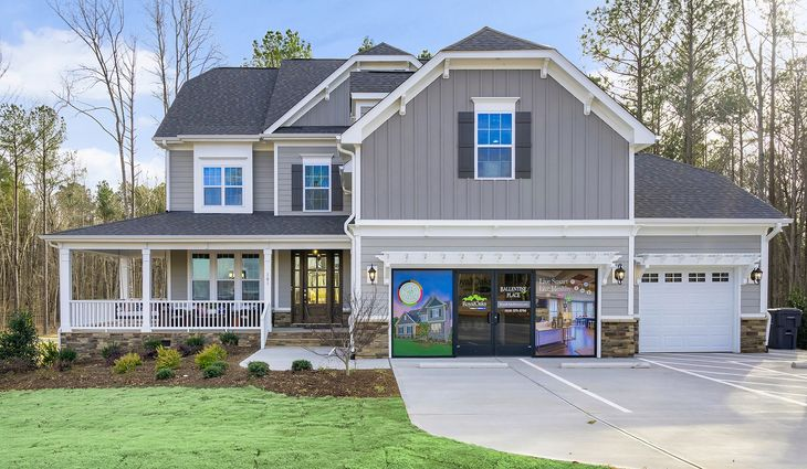Ballentine Place, The Edenton Model, Royal Oaks a Division of Mattamy Homes