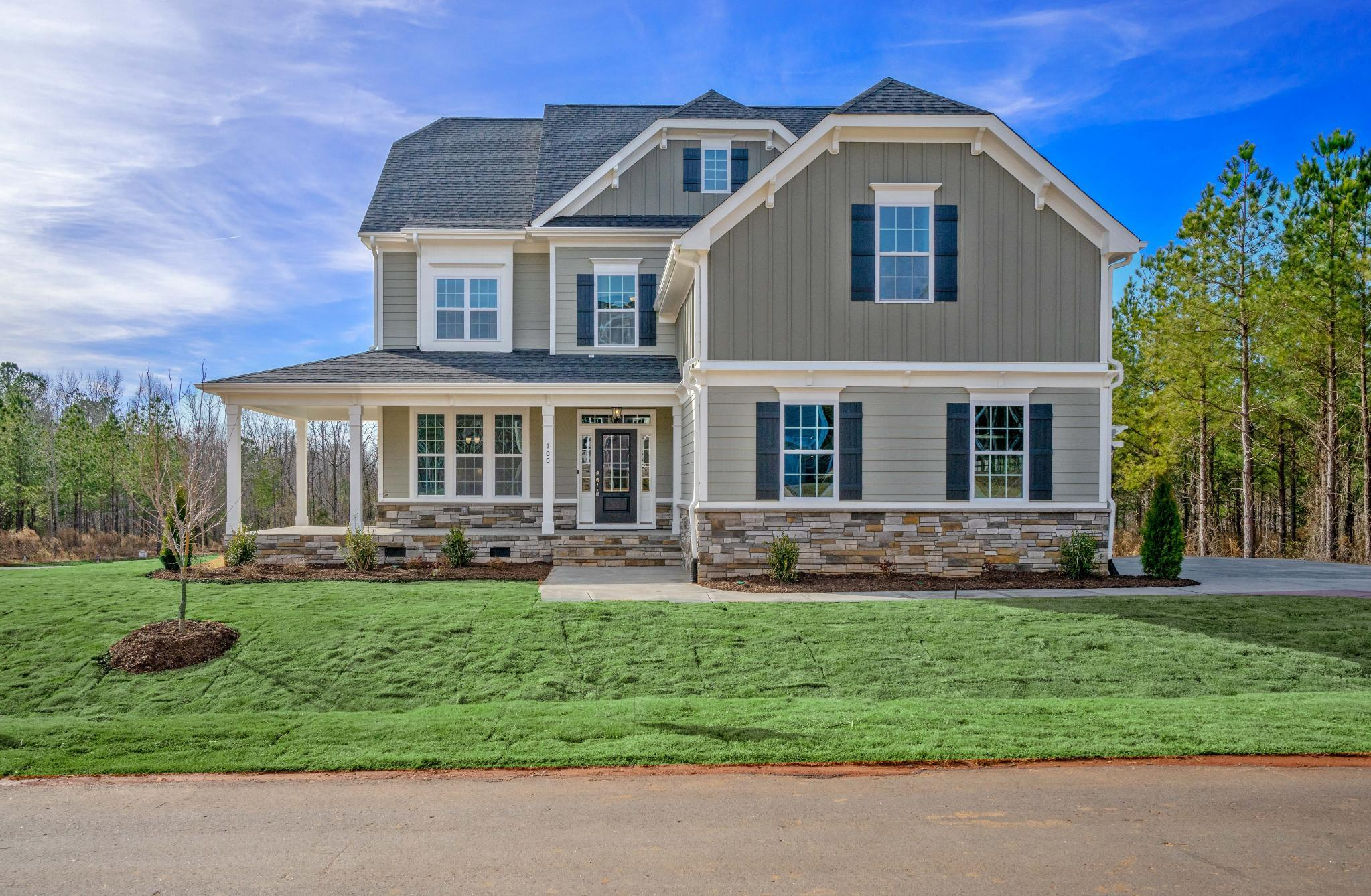The Edenton   Ballentine Place: Holly Springs, North Carolina   Royal Oaks  Homes