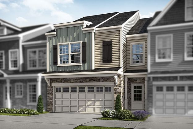 The Stovall   Front Elevation Rendering