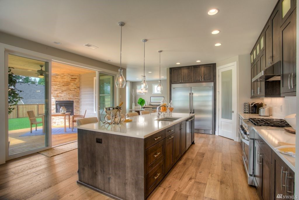 Kitchen featured in The Avalon By Rush Residential in Tacoma, WA