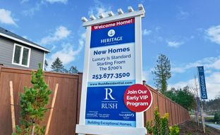Heritage Gig Harbor by Rush Residential in Tacoma Washington