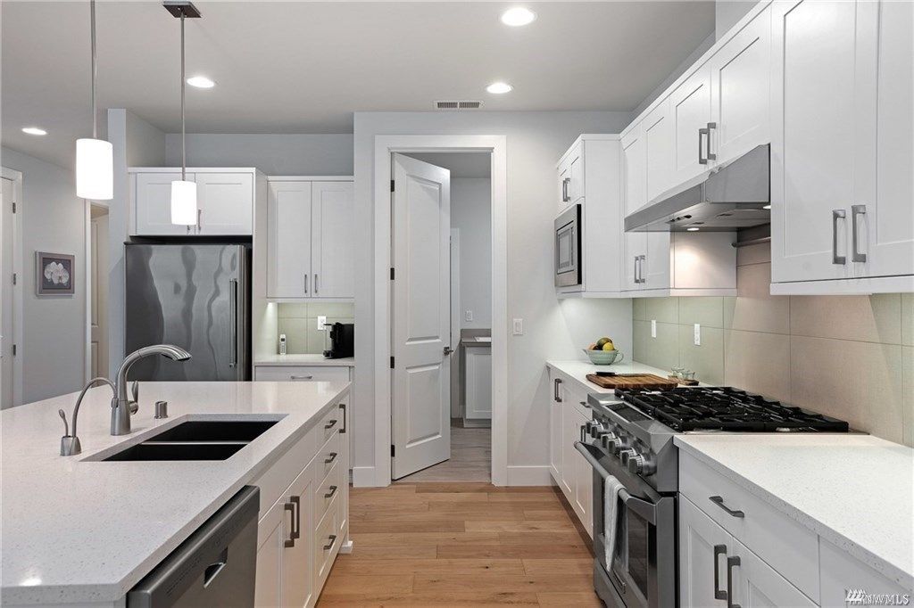 Kitchen featured in The Harbor Home By Rush Residential in Tacoma, WA