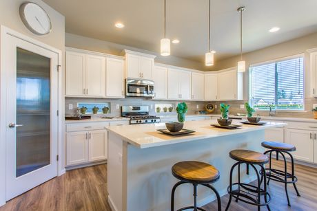 Kitchen-in-The Aspen-at-Heritage Grove-in-Puyallup