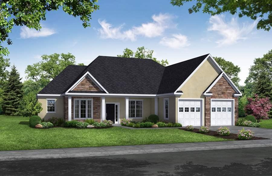 Exterior featured in the Bordeaux By Russo Homes, LLC in Philadelphia, NJ