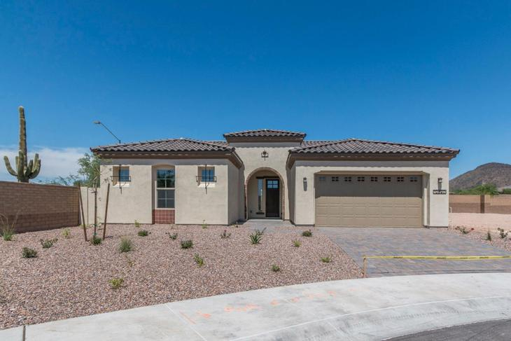 Tierra Front of Home Alicante at Vistancia 12890 W Pasaro Peoria AZ 85383 William Ryan Homes Phoe...:Front of Home
