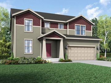 Cottage Exterior Elevation Rendering Sulton By William Ryan Homes