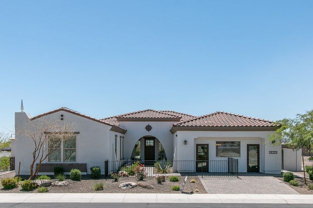 Carina model home new homes for sale Tranquility at Montecito in Estrella by William Ryan Homes P...:Carina Model Home - Monterey Exterior