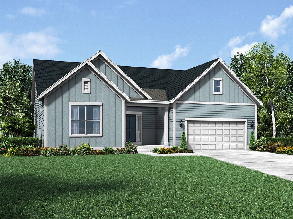 Exterior featured in the Coventry II By William Ryan Homes in Madison, WI