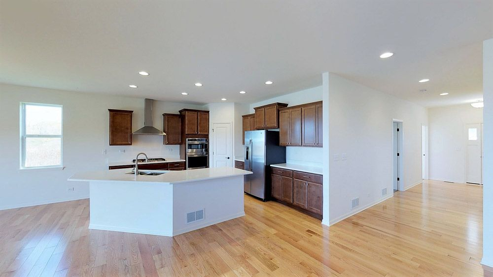 Kitchen featured in the Coventry II By William Ryan Homes in Madison, WI