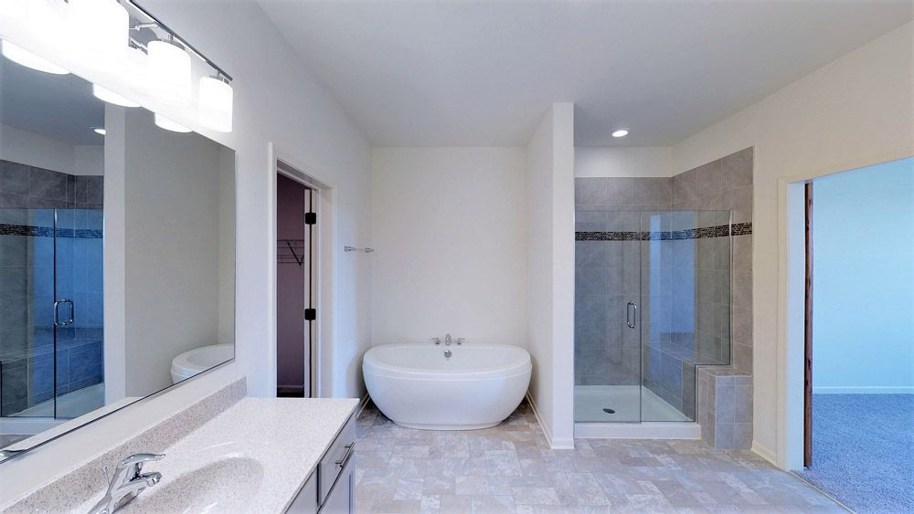 Bathroom featured in the Coventry II By William Ryan Homes in Madison, WI