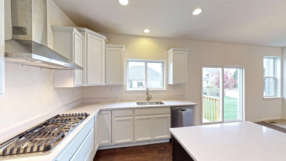 Kitchen featured in the Fordham II By William Ryan Homes in Madison, WI