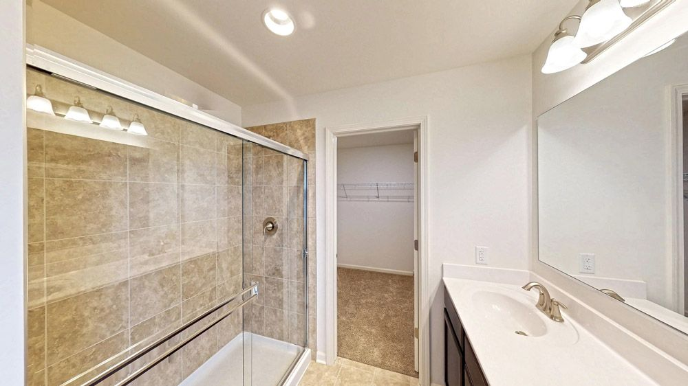 Bathroom featured in the Fordham II By William Ryan Homes in Madison, WI
