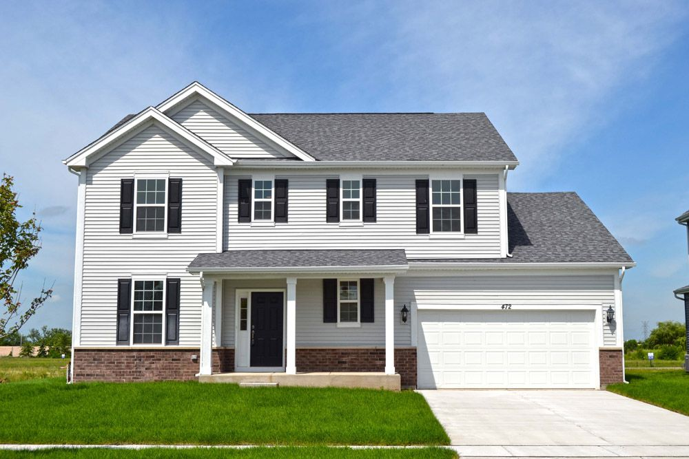 Exterior featured in the Sheridan II By William Ryan Homes in Madison, WI