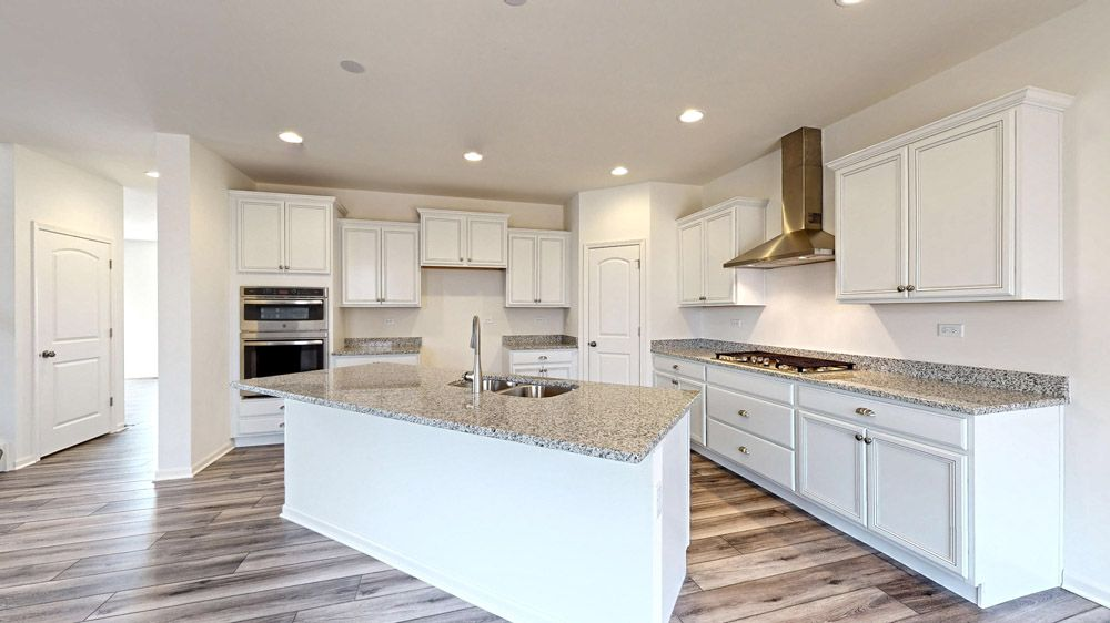 Kitchen featured in the Sulton By William Ryan Homes in Madison, WI