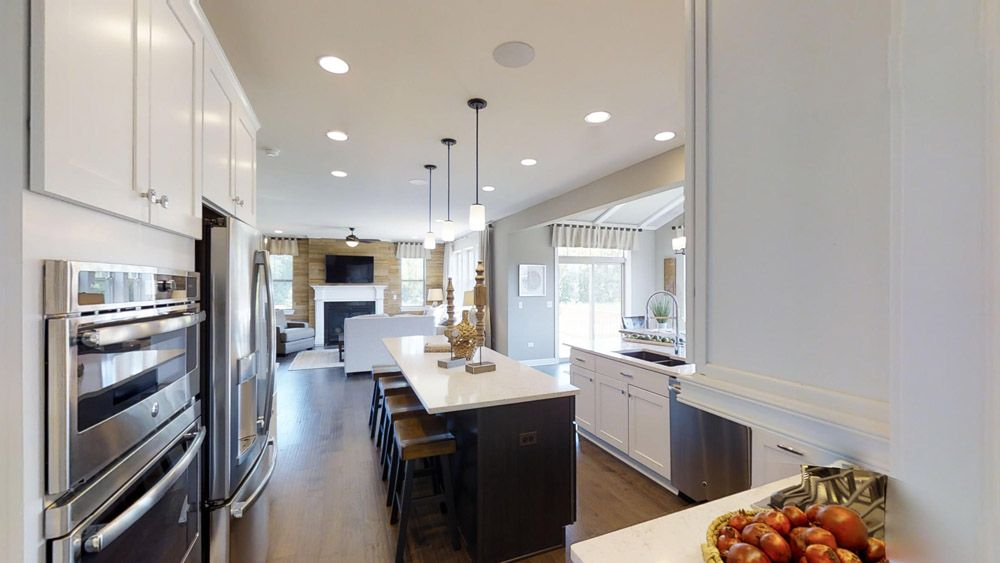 Kitchen featured in the Jericho II By William Ryan Homes in Madison, WI