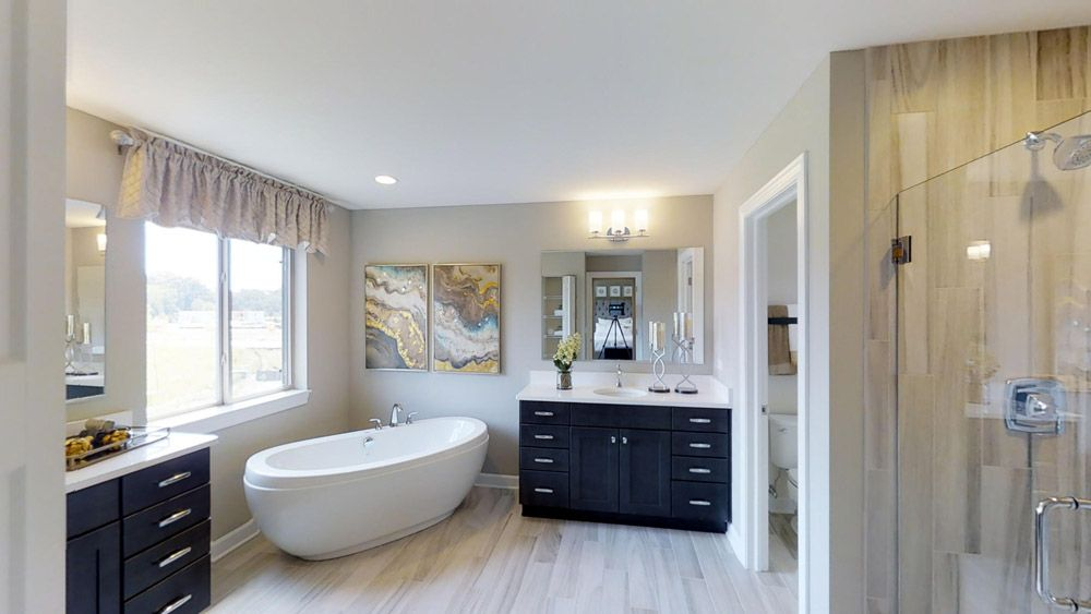 Bathroom featured in the Jericho II By William Ryan Homes in Madison, WI