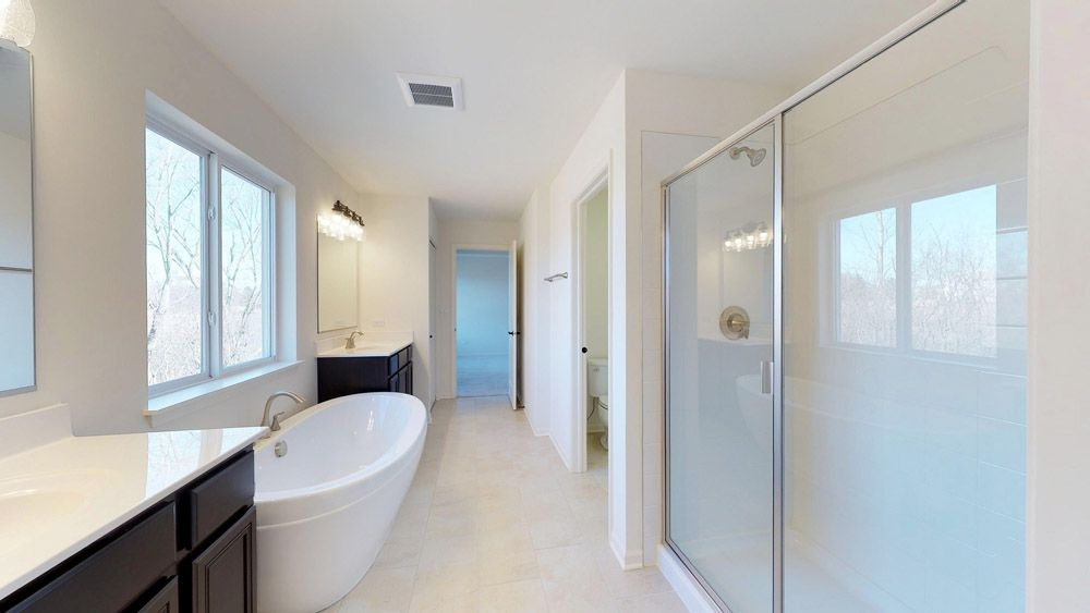 Bathroom featured in the Sheridan II By William Ryan Homes in Madison, WI